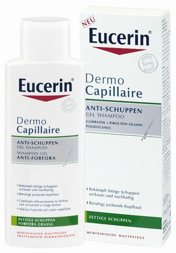 eucerin dermocapillaire anti schuppen gel shampoo 250 ml. Black Bedroom Furniture Sets. Home Design Ideas